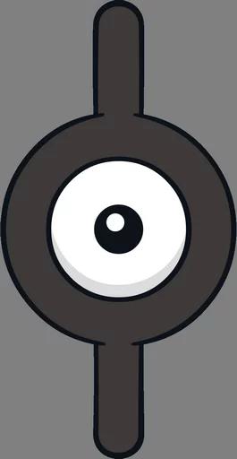 Pokemon Unown 183 Telegram Stickers Directory